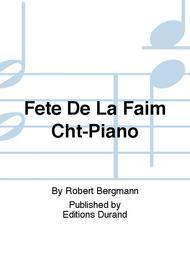 Fete De La Faim Cht-Piano