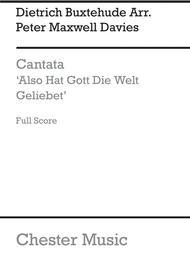 Cantata - Also Hat Gott Die Welt Geliebet