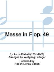 Messe in F op. 49