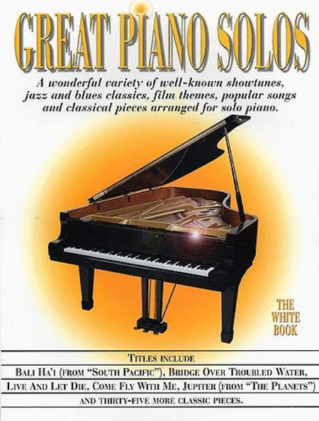 Great Piano Solos - The White Book