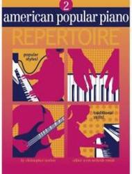 American Popular Piano Repertoire 2