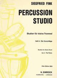 Studies for Snare Drum Vol. 4
