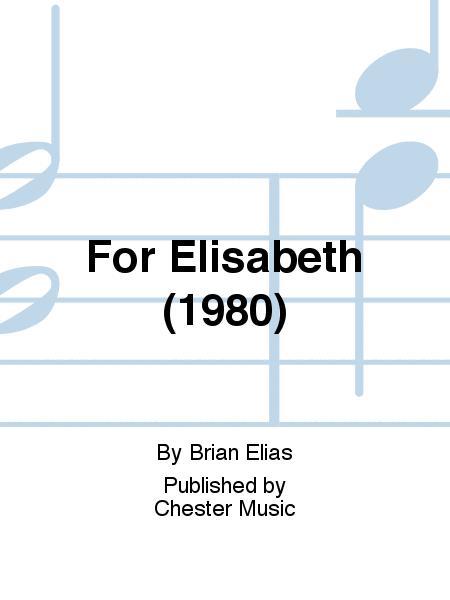 For Elisabeth (1980)