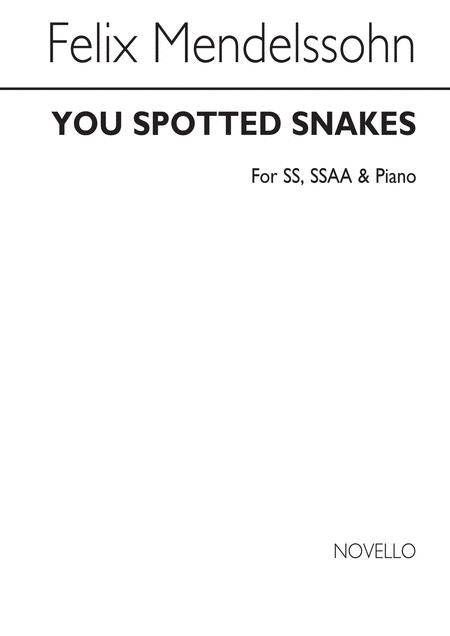 You Spotted Snakes (A Midsummer Night's Dream)