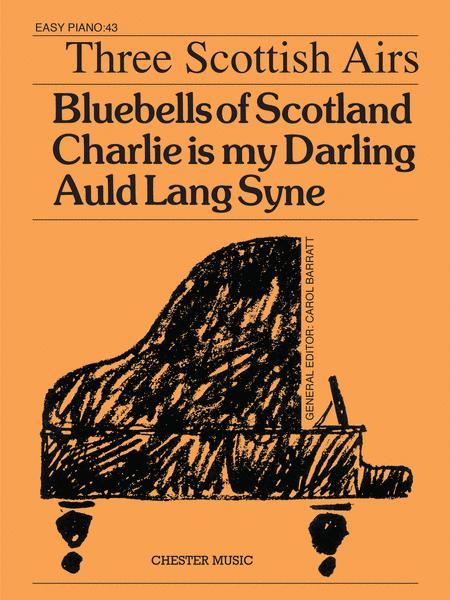 Easy Piano: Three Scottish Airs