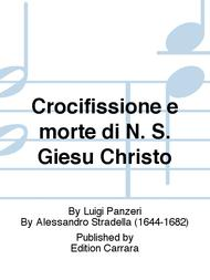 Crocifissione e morte di N. S. Giesu Christo