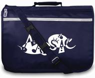 Mapac: Music Bag Excel - Music Word (Navy)