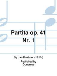 Partita op. 41 Nr. 1