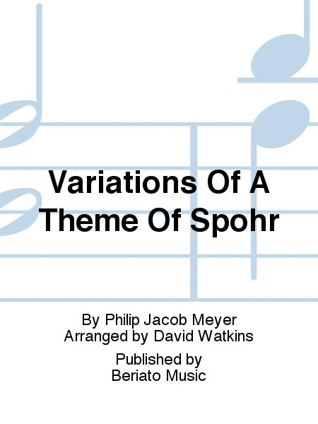 Variations Of A Theme Of Spohr