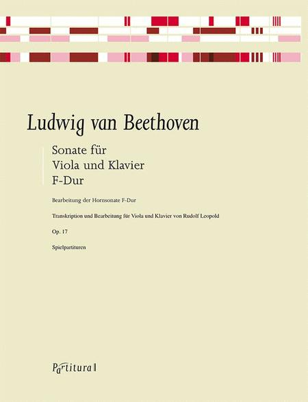 Sonata F Major, Op. 17