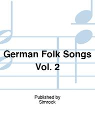 German Folk Songs For Low Voice
