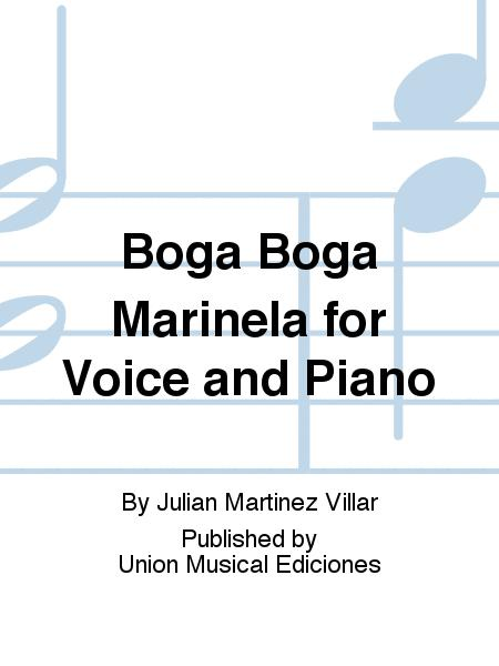 Boga Boga Marinela for Voice and Piano