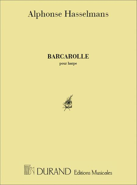 Barcarolle Pour Harpe