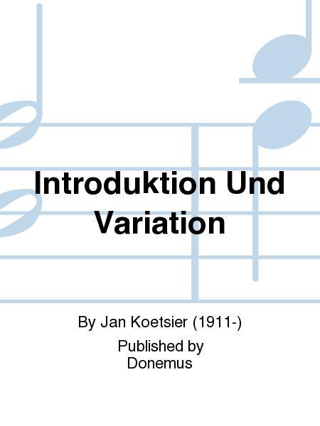 Introduktion Und Variation
