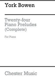 Twenty-Four Preludes For Piano