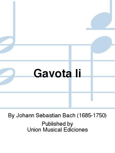 Gavota Ii