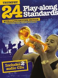 24 Play-Along Standards With A Live Rhythm Section