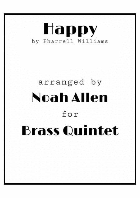 Happy (Brass Quintet)