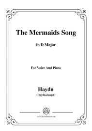 Haydn-The Mermaids Song in D Major, for Voice and Piano