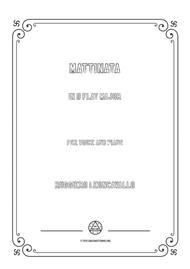 Leoncavallo-Mattinata in D flat Major,for Voice and Piano
