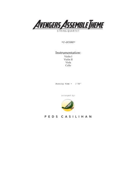 The Avengers Assemble Theme String Quartet