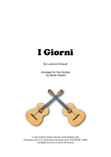 I Giorni - 2 guitars