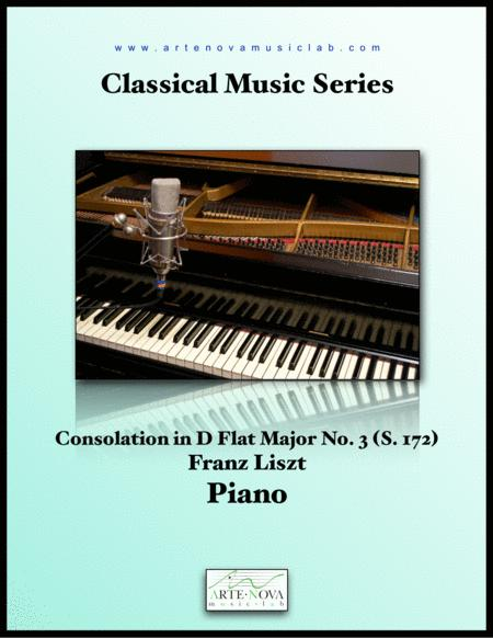 Consolation No. 3 in D Flat Major, S. 172