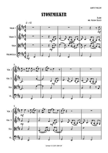 Stonemilker - String Quartet