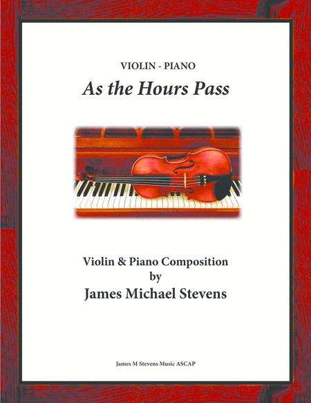 As the Hours Pass - Violin & Piano