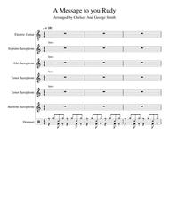 Download A Message To You Rudy Sheet Music By The Specials