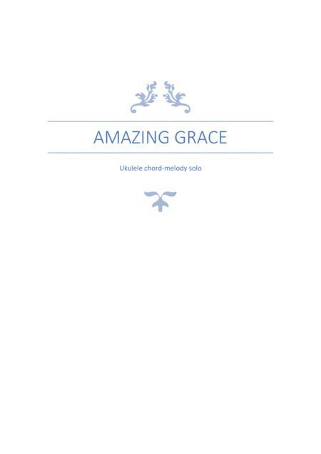 Amazing Grace Ukulele Chord-Melody Solo