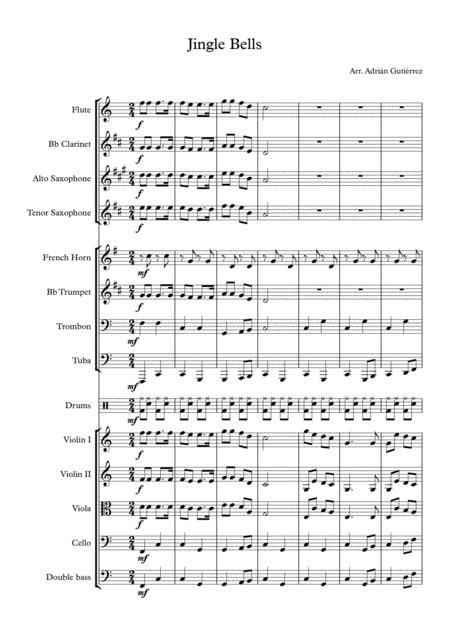 Jingle Bells- full orchestra (easy)