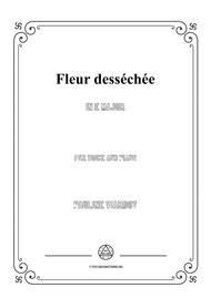 Viardot-Fleur desséchée in E Major,for Voice and Piano