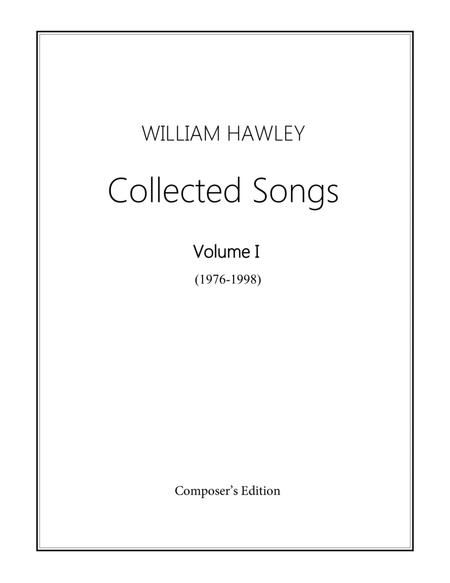 Collected Songs, Volume I (1976-1998)