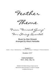 Forrest Gump - Main Title (feather Theme) - String Quartet
