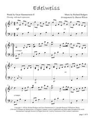 Edelweiss (Intermediate Piano Solo)