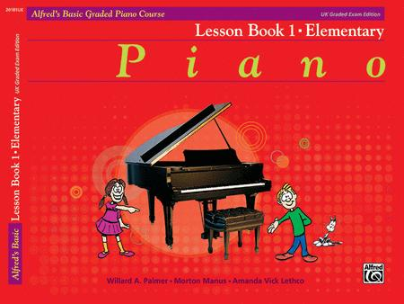 Alfred's Basic Graded Piano Course Lesson