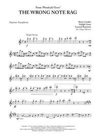 The Wrong Note Rag for Saxophone Quartet
