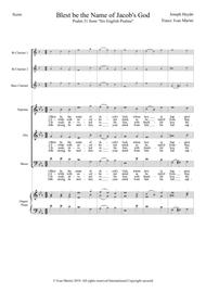 Blest be the name - Haydn - Choir with opt. Organ and Woodwinds