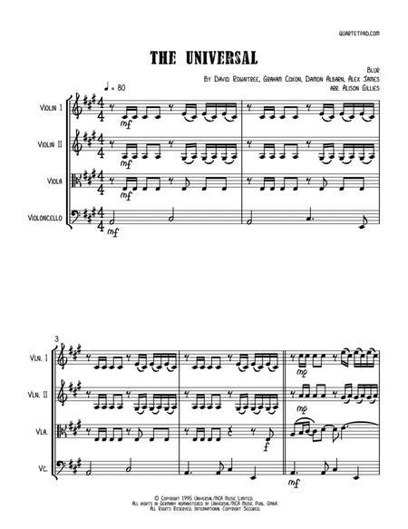 The Universal - String Quartet