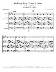 Wedding Song (There Is Love) - String Trio