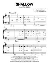 Shallow - Easy Piano