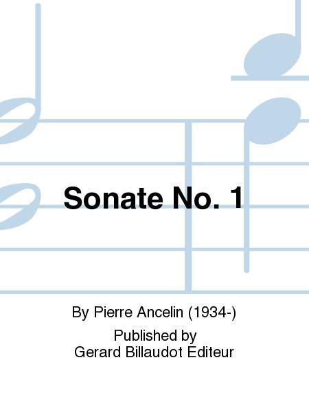Sonate No. 1