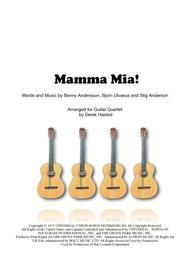 Mamma Mia - 4 guitars or large ensemble