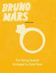 Marry You (String Quartet)