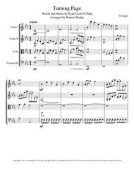 Turning Page String Quartet