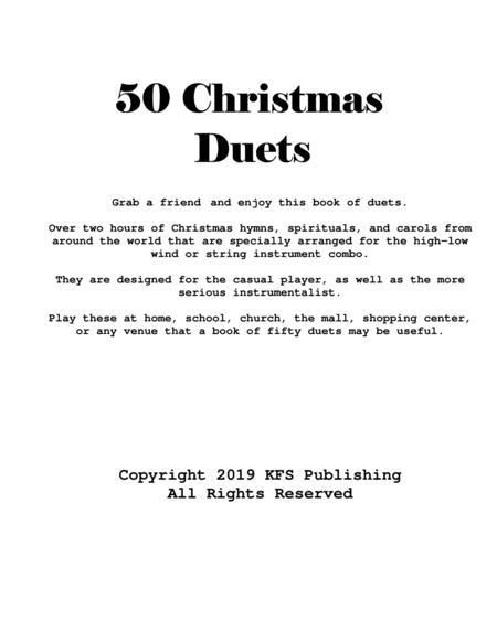 Fifty Christmas Duets (Violin and Viola)
