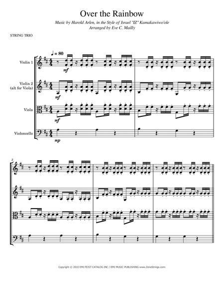 Over The Rainbow (Hawaiian - style of Israel
