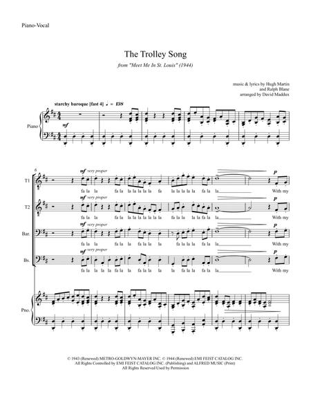 "The Trolley Song (from the movie ""Meet Me In St. Louis"")"