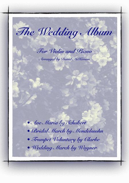 The Wedding Album, for Solo Violin and Piano